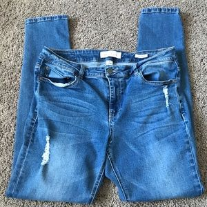 Kenneth Cole Reaction Skinny Jeans Size 10